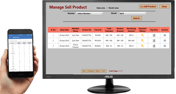 manage sell product
